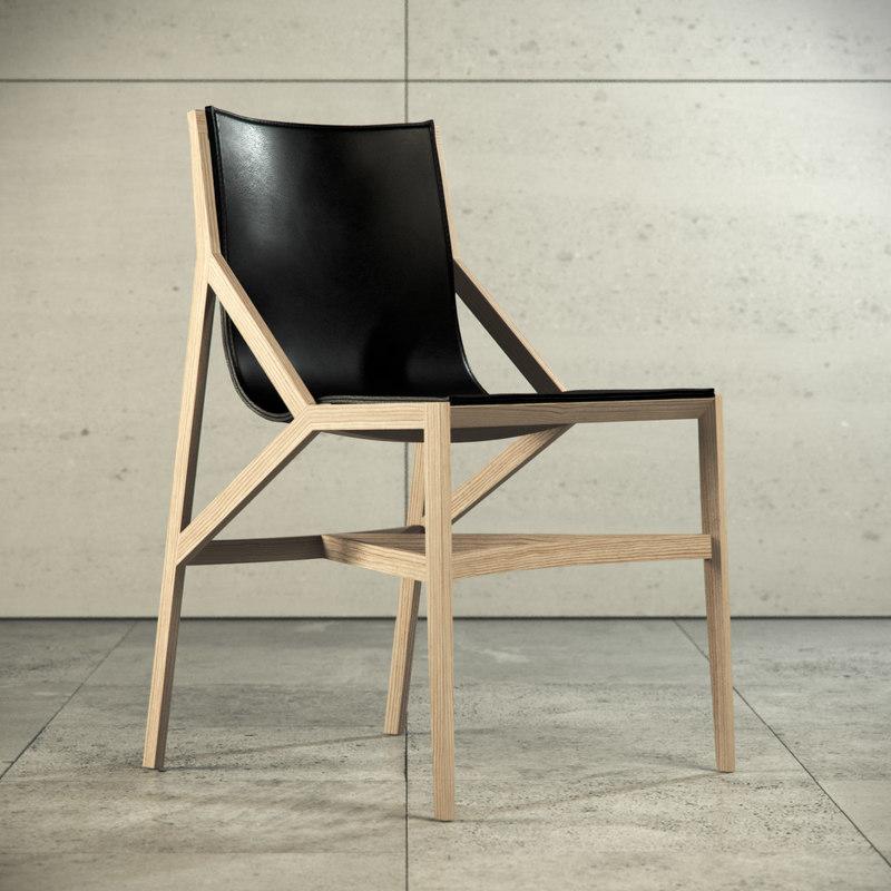 3d pilotta dining chair