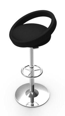 free 3ds model stool
