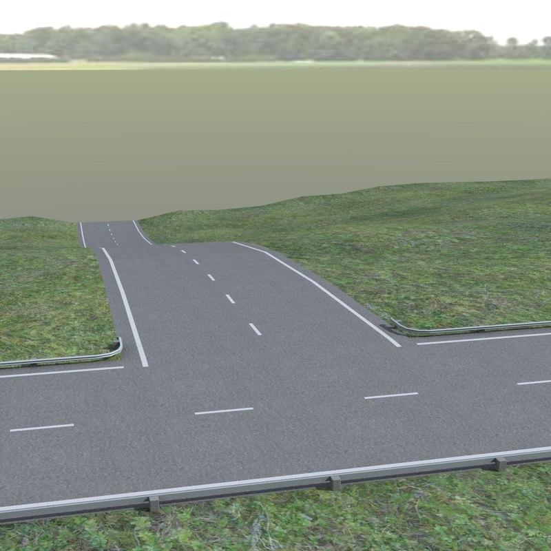 obj roads highway bridges