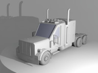 3ds max truck vehicle
