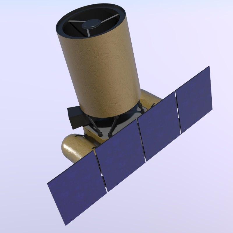 arkyd space telescope 3d model