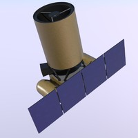 arkyd space telescope 3d model