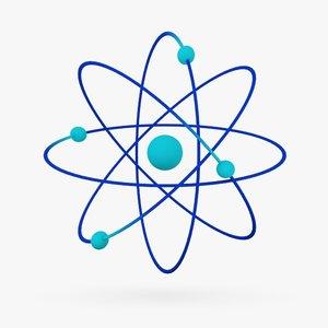 3d model atom