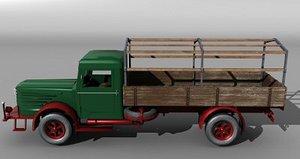 3d model german truck
