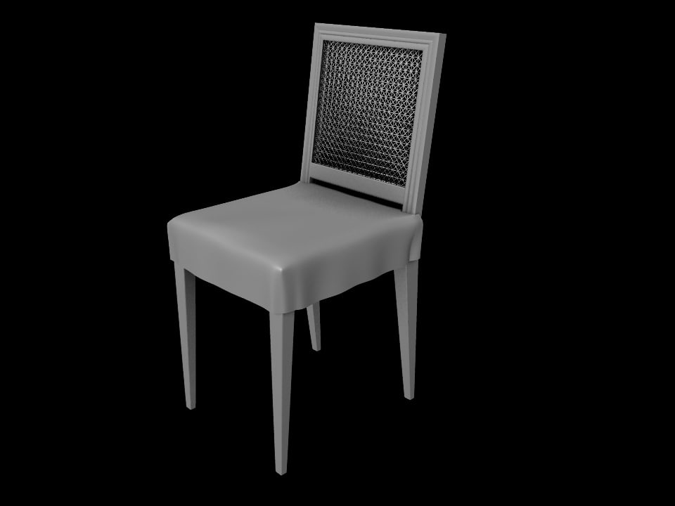 wooden chair max