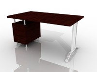 office desk 3d model