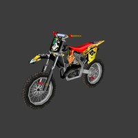 low poly dirt bike 11
