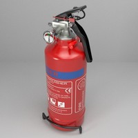 Fire extinguisher (vehicle or household)