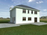 maya rear house render