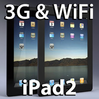 apple ipad2 ipad 3d 3ds