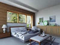minimalis badroom 3d 3ds
