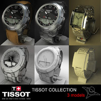 3d tissot watches
