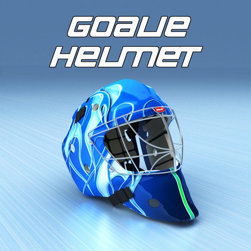 max ice hockey goalie helmet