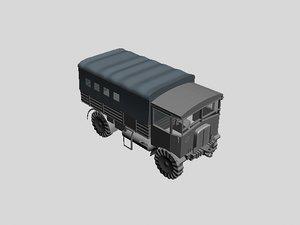 matador aec truck 3d model