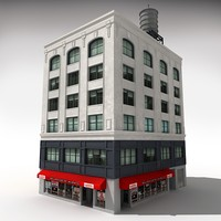 nyc building 2 3d model