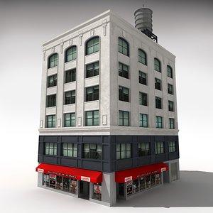 nyc building 2 3d model