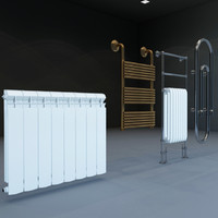 3d model heaters