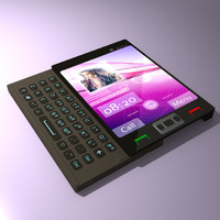 concept cellular phone 3ds