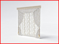 3d curtain sheer model