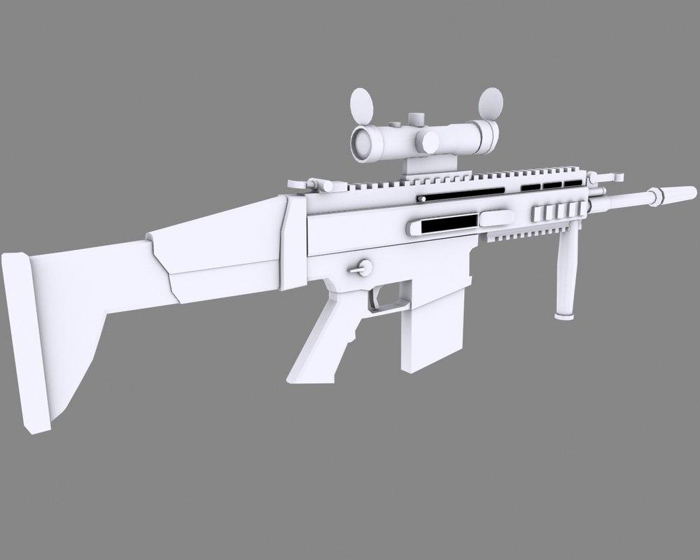 usa rifle 3d 3ds