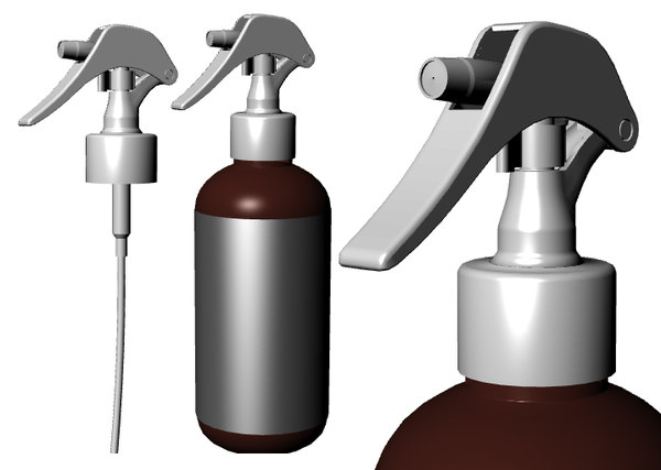 maya spray bottle