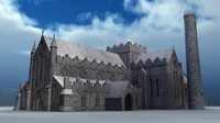 3d st canice cathedral model
