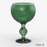 3dm glass goblet