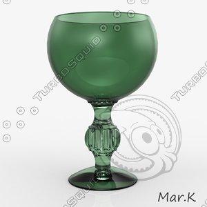 3dm glass goblet