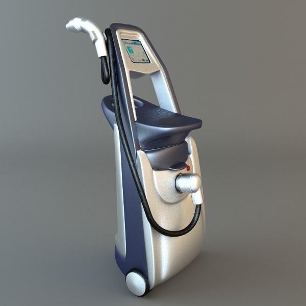 medical device hospital 3d model