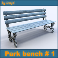 Park bench # 1