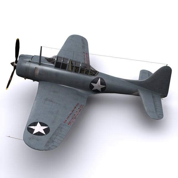 3d max sbd bomber