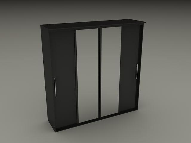 3d model wardrobe