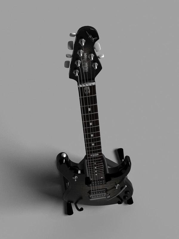 ernie music man john 3d model