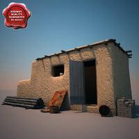 3dsmax afghanistan house v4
