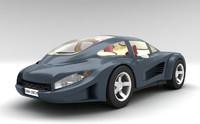 3ds concept car materials