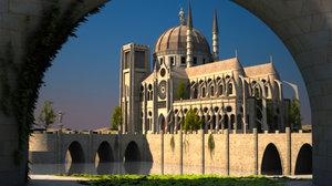fantasy cathedral max