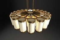 3d chandelier light classic model