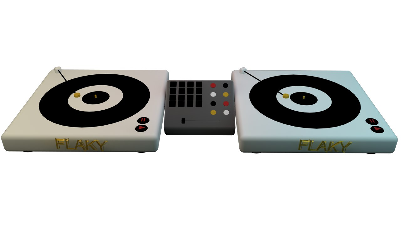 3d turntable model