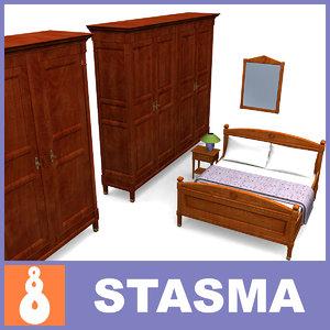 maya directoire furniture bed interior