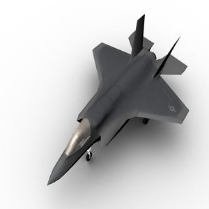 3d obj f-35b jsf