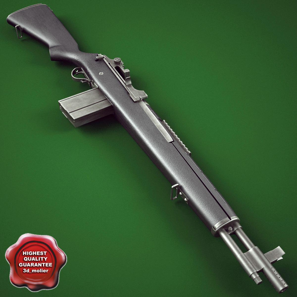 m14 socom rifle max