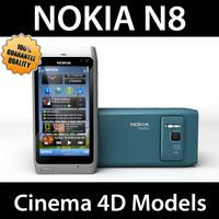 Nokia N8 N 8 C4D