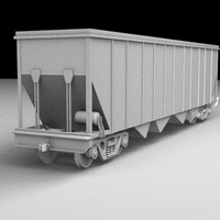 Railroad Covered Hopper Two
