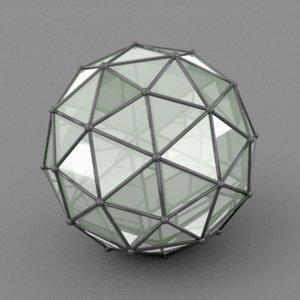 icosphere sphere 3ds