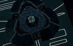 c4d disc wars arena tron