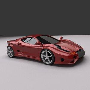 3d model design concept cars modenia