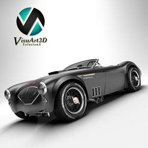 3d model austin healey 1004 v8