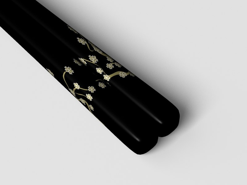 black chopsticks 3ds