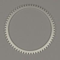 clock gear wheel 3ds
