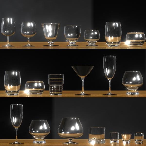 3d pack 16 glasses